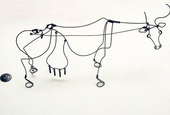 Alexander Calder, Cow, 1929