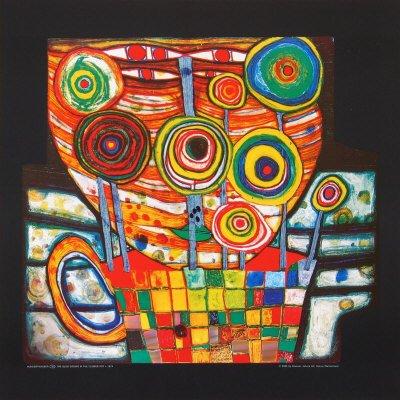 Hundertwasser's painting