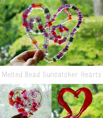 sun catcher hearts by Jean Van't Hul