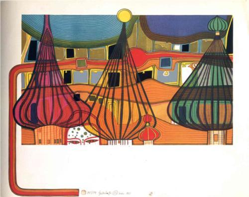 Hundertwasser's work
